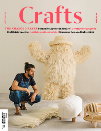 Back Issue - September/October 2020<p class='normal centreme'> The Change Makers <br/><div class='normal backissuetitle'><span class='backissuetext'> The artists, designers, thinkers and organisations making an impact through craft </span></div></p>